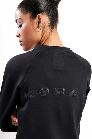 Koral Crown Pullover Black image 3 - The Sports Edit