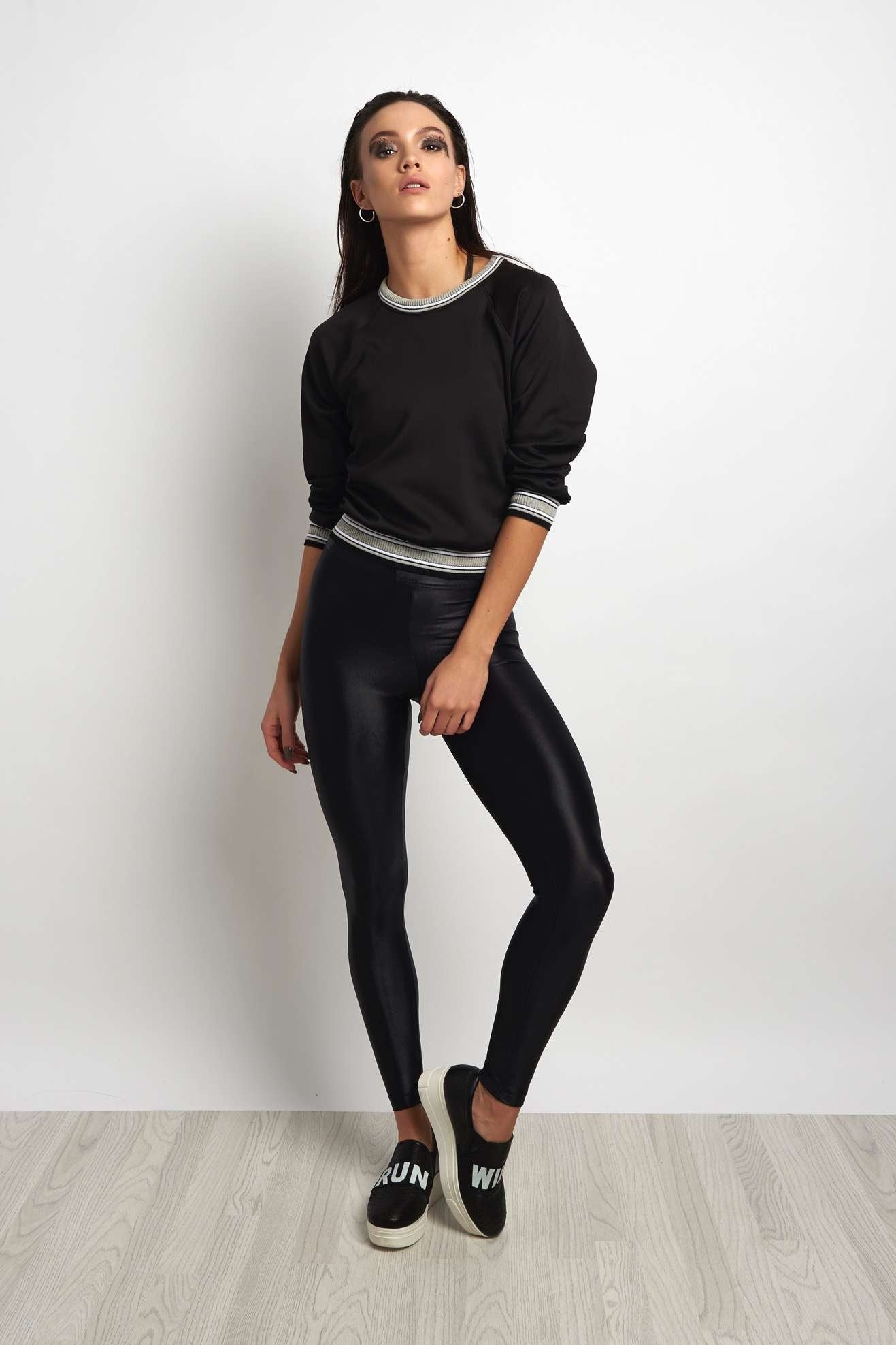 Koral Club Long Sleeve Sweatshirt - Black image 4 - The Sports Edit