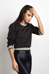 Koral Club Long Sleeve Sweatshirt - Black image 1 - The Sports Edit