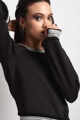 Koral Club Long Sleeve Sweatshirt - Black image 3 - The Sports Edit