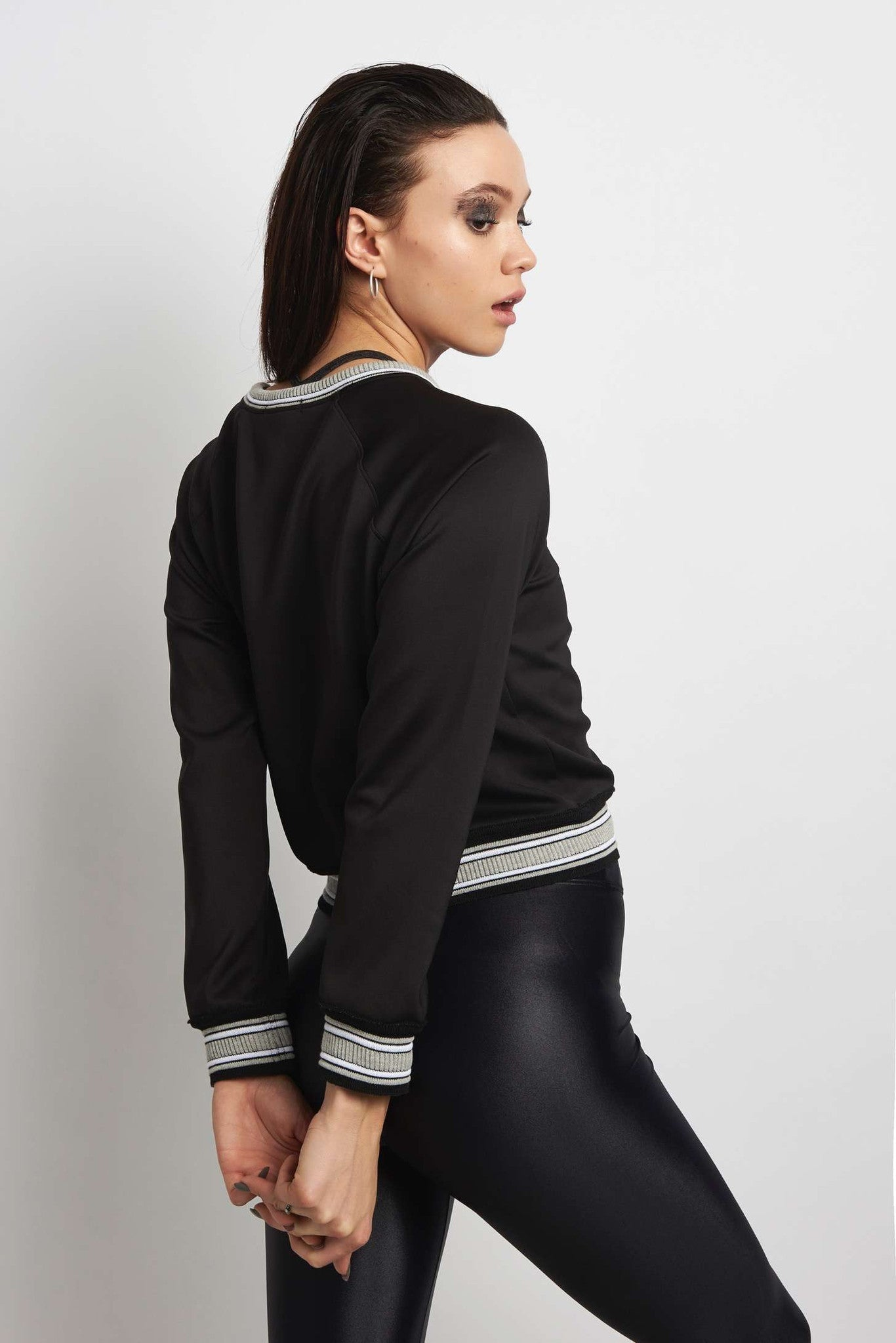Koral Club Long Sleeve Sweatshirt - Black image 2 - The Sports Edit
