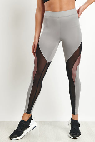 Koral Frame High Rise Legging - Chromium image 1 - The Sports Edit