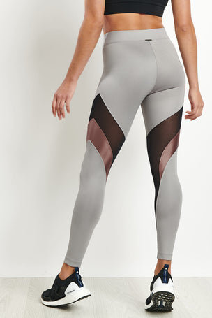 Koral Frame High Rise Legging - Chromium image 2 - The Sports Edit
