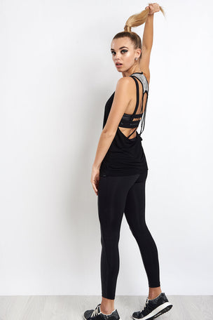 Koral Jump Top Black/Weave image 5 - The Sports Edit