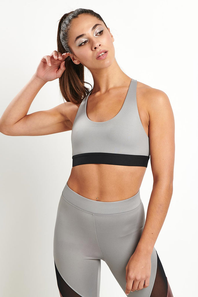 011969631 Koral Kingley Sports Bra - Chromium image 2 - The Sports Edit