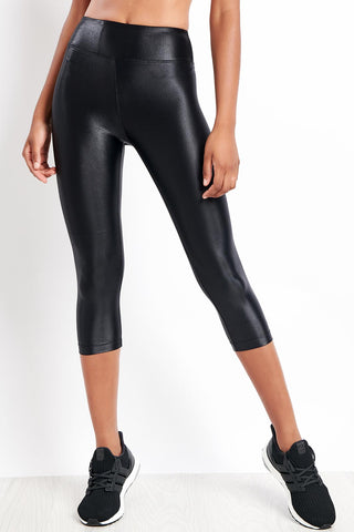 Koral Lustrous High Rise Capri image 1 - The Sports Edit