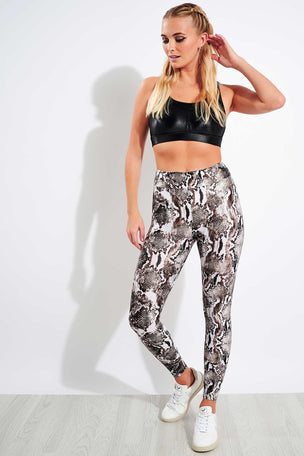 Koral Lustrous High Waisted Legging - Diamond Back image 2 - The Sports Edit