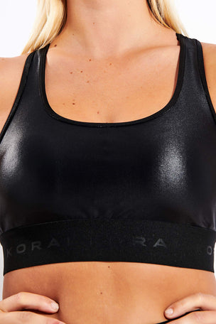 Koral Performance Infinity Sports Bra - Black/Palace/Vienna image 4 - The Sports Edit