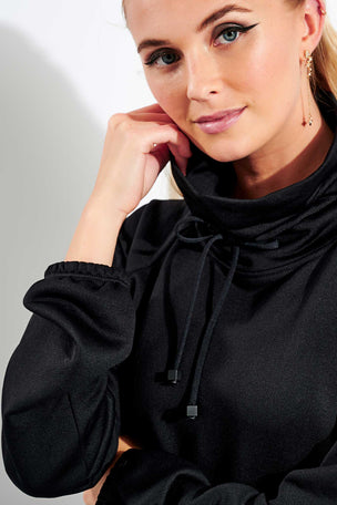 Koral Probe Valo Pullover - Black image 4 - The Sports Edit
