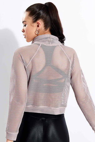 Koral Pump Open Mesh Pullover - Alvorada image 3 - The Sports Edit