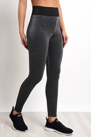 Koral Playoff High Rise Glow Legging - Silver image 1 - The Sports Edit