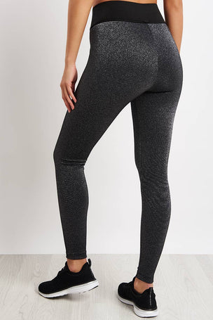 Koral Playoff High Rise Glow Legging - Silver image 2 - The Sports Edit