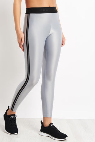 Koral Rhys Mid Rise Energy Legging - Silver image 1 - The Sports Edit