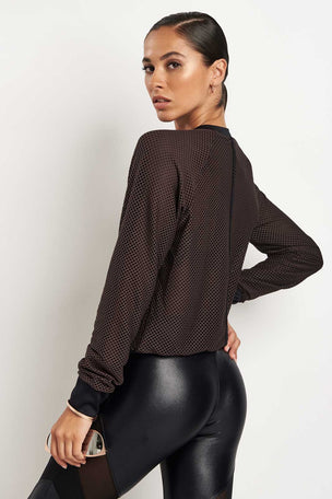 Koral Row Pullover image 2 - The Sports Edit