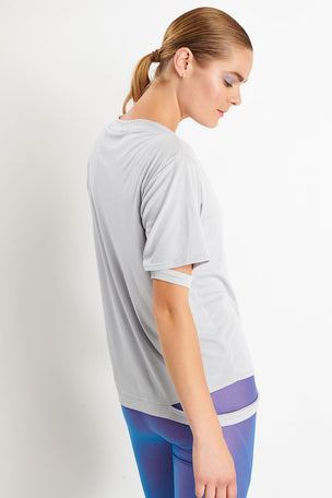 Koral Serene Marlow T-Shirt - Agate image 3 - The Sports Edit