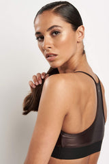 Koral Sweeper Versatility Bra - Choc image 3 - The Sports Edit