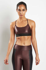 Koral Sweeper Versatility Bra Bordeaux image 1 - The Sports Edit