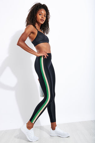 Koral Trainer Energy High Waisted Legging - Black image 2 - The Sports Edit