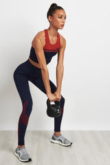 LNDR A Grade Bra Navy/Red image 4 - The Sports Edit