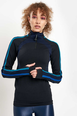 LNDR Downhill Racer Long Sleeve - Black image 1 - The Sports Edit