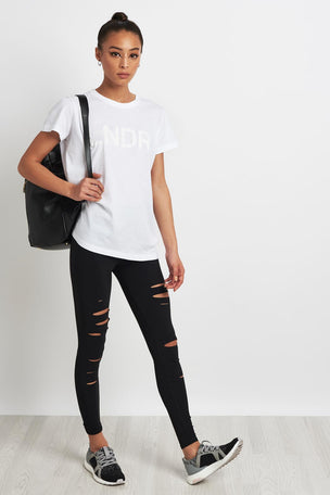 LNDR LNDR Tee - White image 4 - The Sports Edit