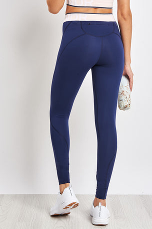 LNDR Marvel Legging - Navy image 2 - The Sports Edit