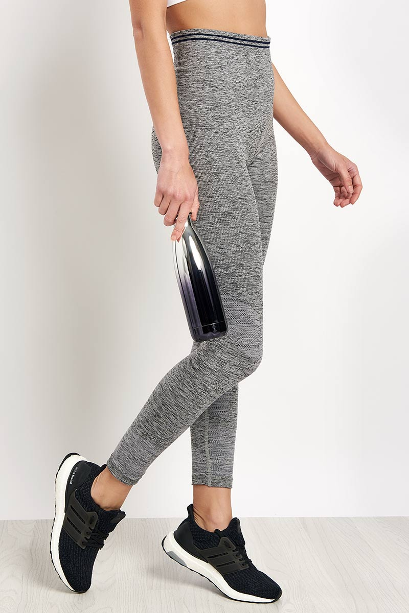 LNDR Seven Eight Legging - Grey Marl image 1 - The Sports Edit