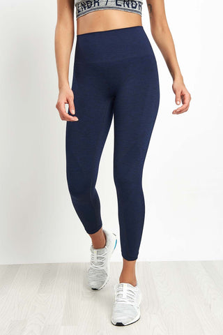 LNDR Six Eight Legging - Navy image 1 - The Sports Edit
