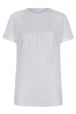 LNDR LNDR Tee - White image 5 - The Sports Edit