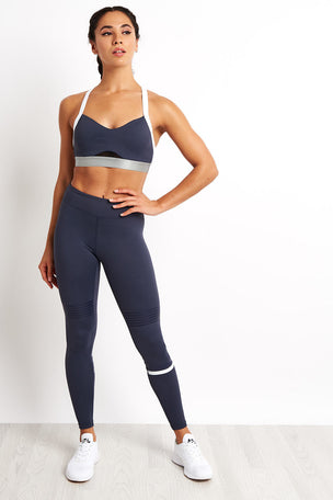 Lilybod Coco Leggings - Graphite image 4 - The Sports Edit