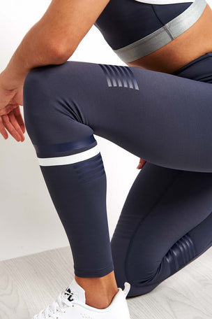 Lilybod Coco Leggings - Graphite image 3 - The Sports Edit