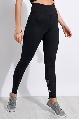 Lilybod Georgia High Waisted Full Length Leggings - Tarmac Black image 2 - The Sports Edit