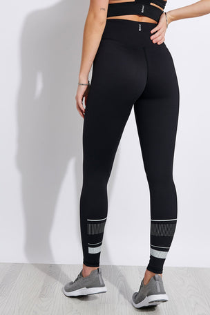 Lilybod Georgia High Waisted Full Length Leggings - Tarmac Black image 1 - The Sports Edit