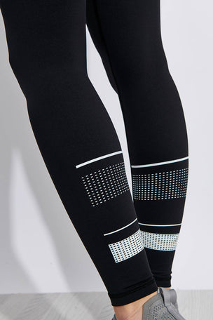 Lilybod Georgia High Waisted Full Length Leggings - Tarmac Black image 3 - The Sports Edit