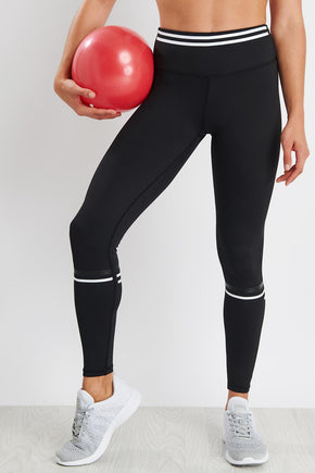 7f210b7ba8d53 Lilybod Lola Leggings - Carbon Air image 1 - The Sports Edit