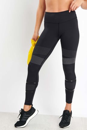 a40cd2c097844 Lilybod Luca Leggings - Ultra Carbon image 1 - The Sports Edit