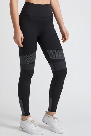 Lilybod Luca-XR Extra High Waisted Mesh Legging - Phantom Jet image 5 - The Sports Edit
