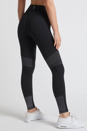 Lilybod Luca-XR Extra High Waisted Mesh Legging - Phantom Jet image 7 - The Sports Edit