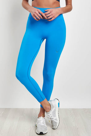 Lucas Hugh Tech Knit 7/8 Leggings - Electric Blue image 1 - The Sports Edit