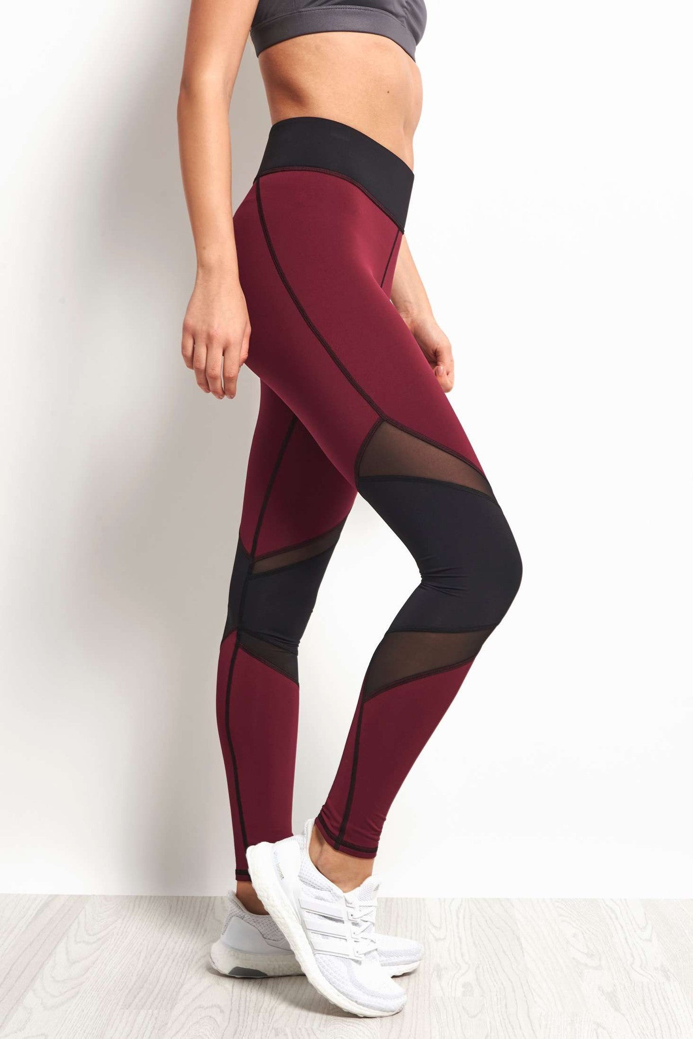Michi Pulsar Legging - Shiraz image 1 - The Sports Edit