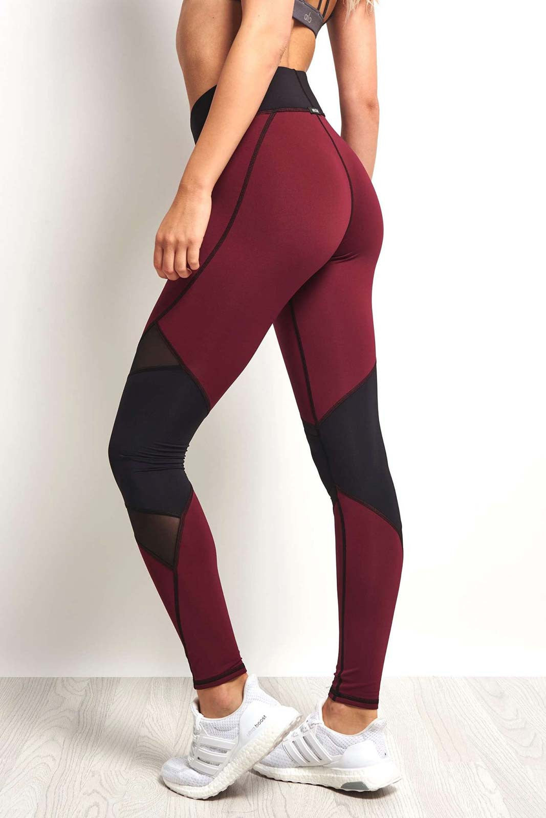 Michi Pulsar Legging - Shiraz image 2 - The Sports Edit