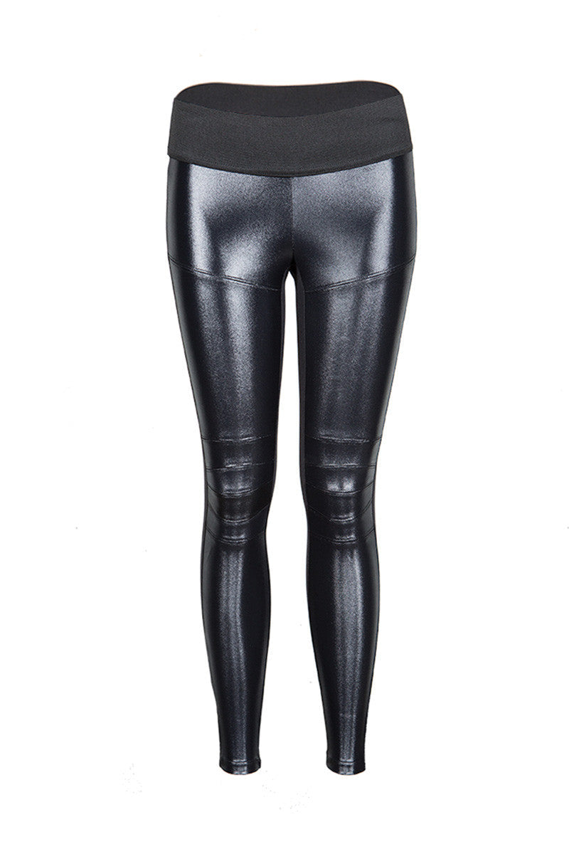Koral Moto M. Rise Leggings-Black image 5