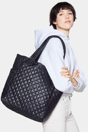 MZ Wallace Max Tote - Black image 3 - The Sports Edit