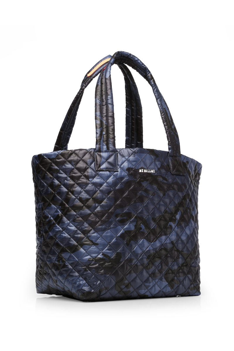 MZ Wallace MZ Wallace Medium Metro Tote - Blue Camo image 4 - The Sports Edit