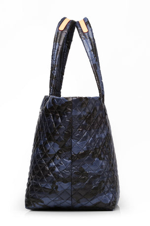 MZ Wallace Medium Metro Tote - Blue Camo image 5 - The Sports Edit