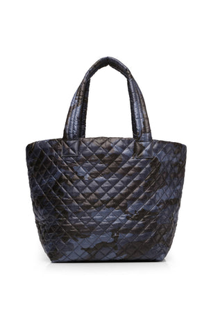 MZ Wallace Medium Metro Tote - Blue Camo image 6 - The Sports Edit