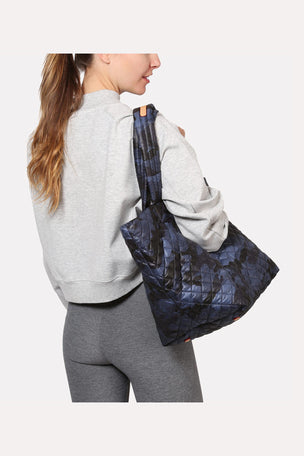 MZ Wallace Medium Metro Tote - Blue Camo image 3 - The Sports Edit
