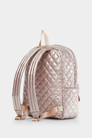 MZ Wallace Small Metro Backpack - Rose Gold image 2 - The Sports Edit
