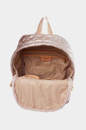 MZ Wallace Small Metro Backpack - Rose Gold image 3 - The Sports Edit
