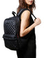 MZ Wallace Medium Metro Backpack - Black Oxford image 4 - The Sports Edit